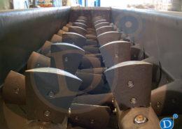 Amasadora de doble eje ceramica