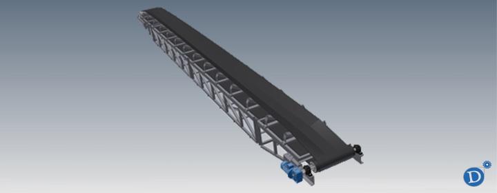 cinta transportadora industrial