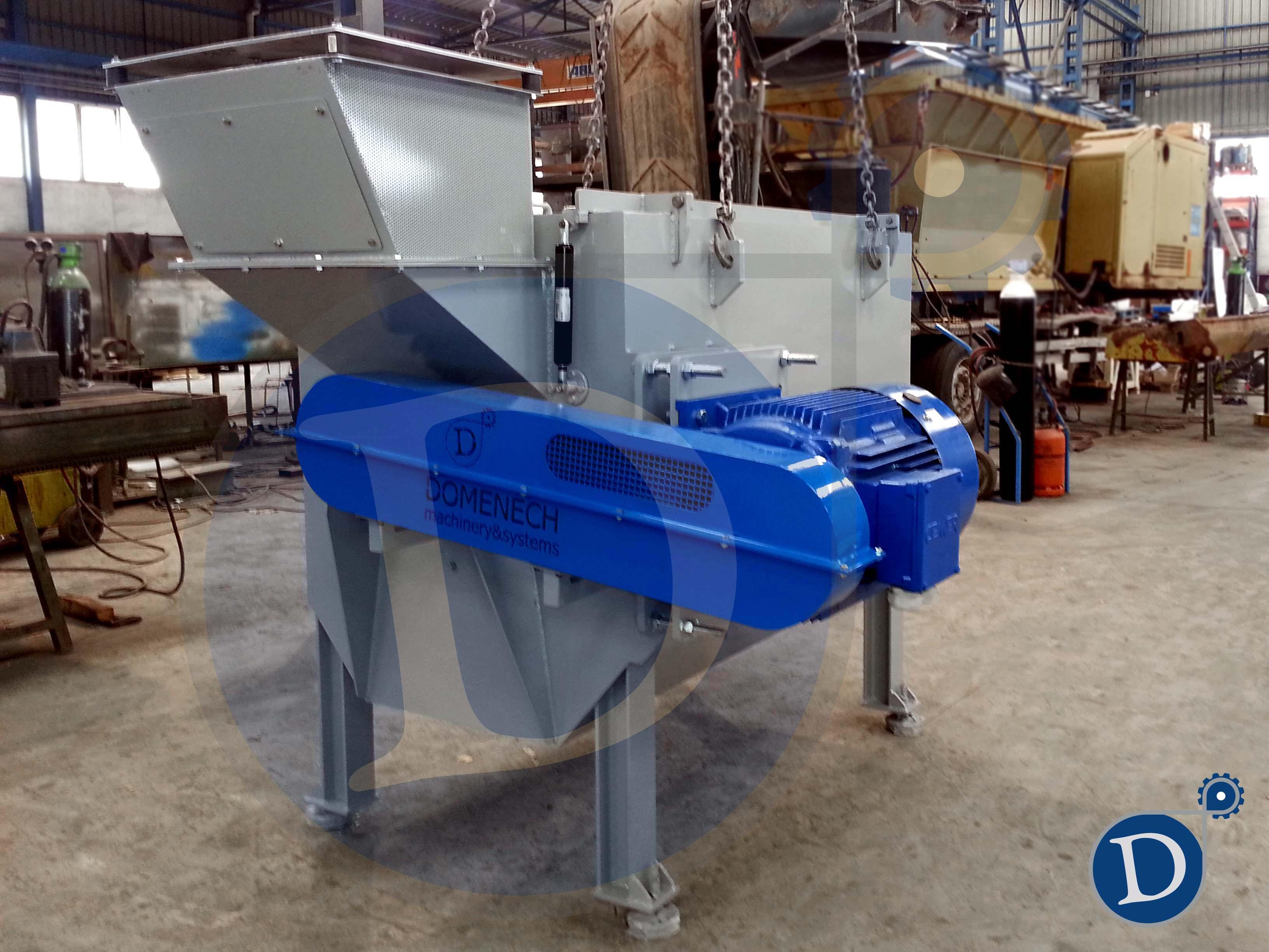 Nueva centr fuga para el reciclaje de pl stico domenech - Maquina de reciclaje de plastico ...