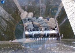 Desmenuzador de tierra ceramica