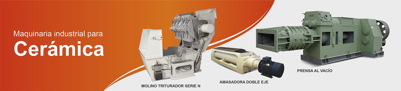 Slider Maquinaria industrial para ceramica