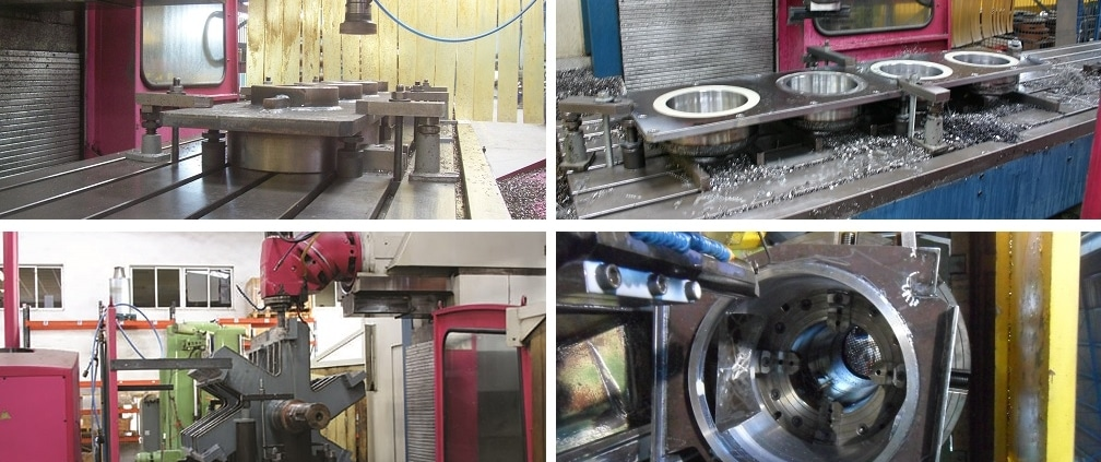 taller de mecanizado domenech maquinaria